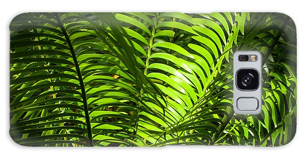 Illuminated Jungle Fern Galaxy Case