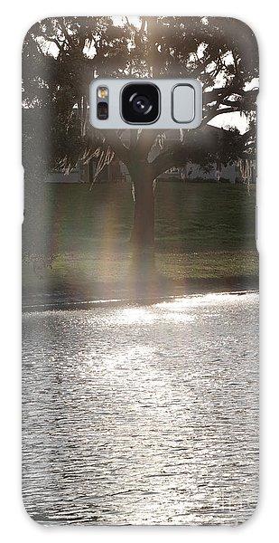 Illuminated Tree Galaxy Case