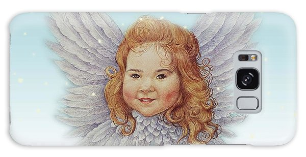 Illustrated Twinkling Angel Galaxy Case