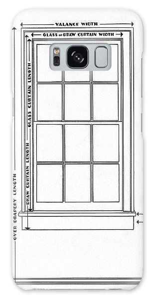 Illustration Of A Window Galaxy Case