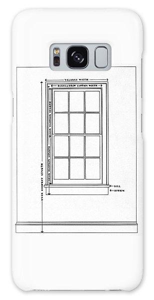Illustration Of A Window Galaxy Case