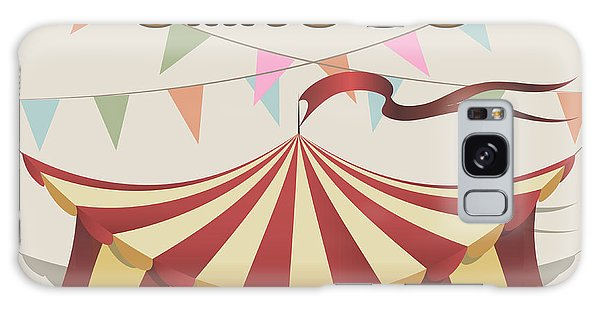 Event Galaxy Case - Illustration Of Carnival Tent Drawn In by Bogadeva1983