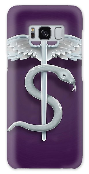 Traits Galaxy Case - Illustration Of Medical Symbol by Fanatic Studio / Science Photo Library