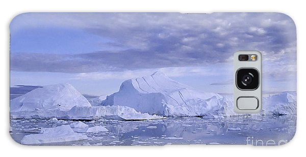 Ilulissat Icefjord Greenland Galaxy Case by Rudi Prott