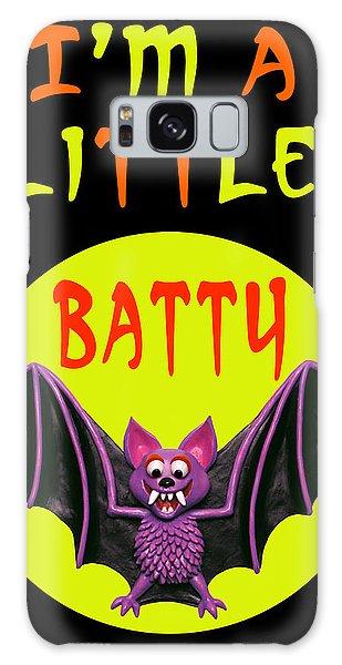 Halloween Galaxy Case - I'm A Little Batty by Amy Vangsgard