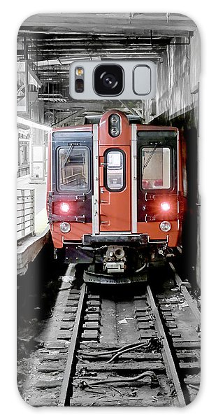 I'm Leaving On A Train Galaxy Case