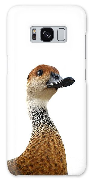 I'm Not Quacking Galaxy Case by Darla Wood