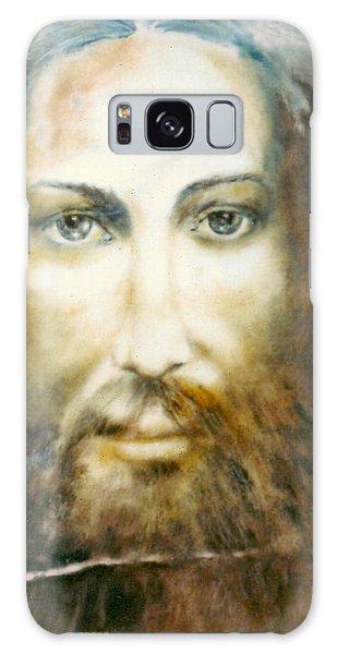 Image Of Christ Galaxy Case by Henryk Gorecki