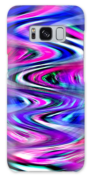 Imagination Curves Galaxy Case by Kellice Swaggerty