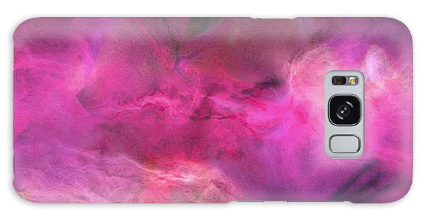 Imagination In Ruby Fire - Abstract Art Galaxy Case