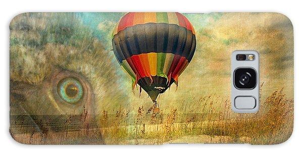 Hot Air Balloons Galaxy Case - Imagine by Betsy Knapp