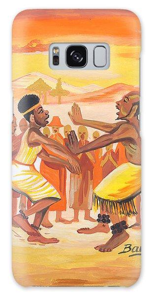 Imbiyino Dance From Rwanda Galaxy Case by Emmanuel Baliyanga