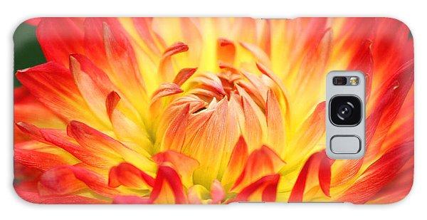 Img 0023 Flor En Rojo Detalle Galaxy Case