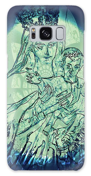 Immanuel God With Us Galaxy Case