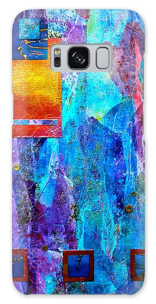 Thought Provoking Galaxy Case - Immersion by Debi Starr