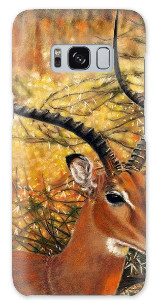 Impala At Sunset Galaxy Case