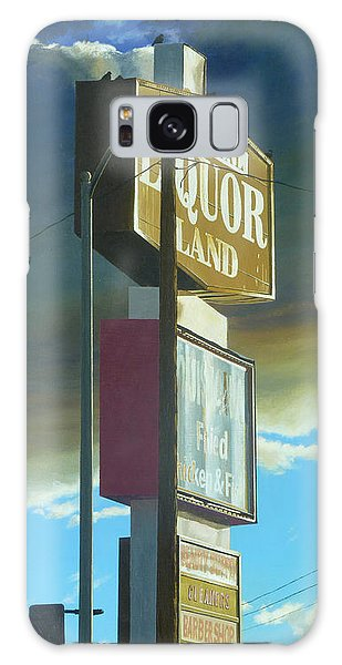 Traffic Signals Galaxy Case - Imperial Liquor Land by Michael Ward