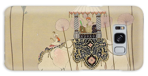 Parasol Galaxy Case - Imperial Procession by Georges Barbier