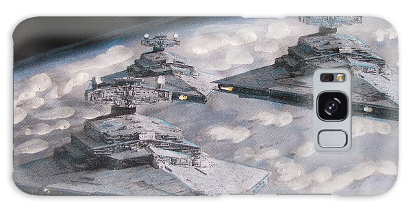 Imperial Star Ship Destroyers Galaxy Case by Vikram Singh