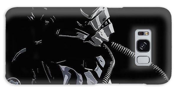 Imperial Tie  Pilot 2 Galaxy Case by Brian Stevens