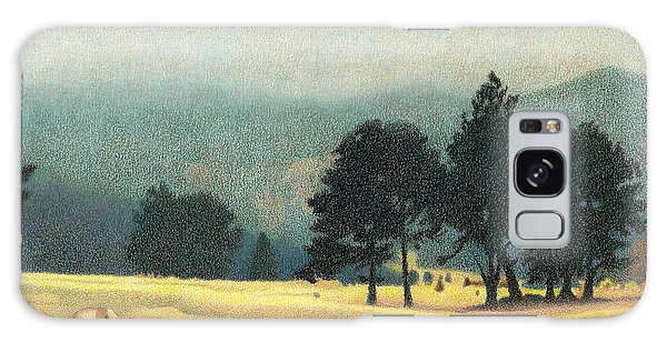 Impression Evergreen Colorado Galaxy Case