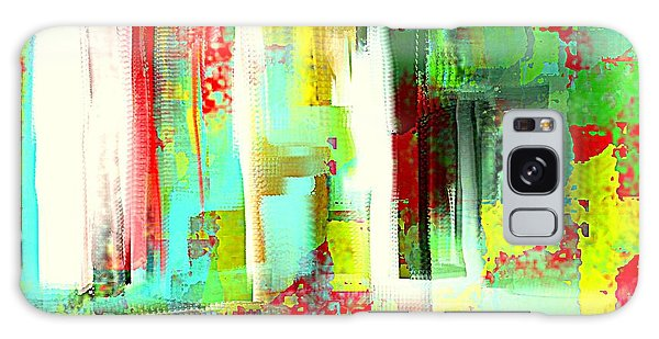 Impressionist Abstract Cityscape Galaxy Case