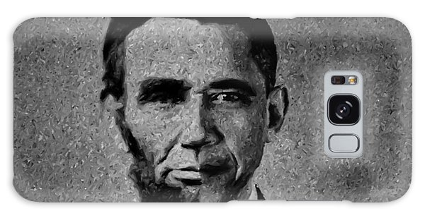 Impressionist Interpretation Of Lincoln Becoming Obama Galaxy Case