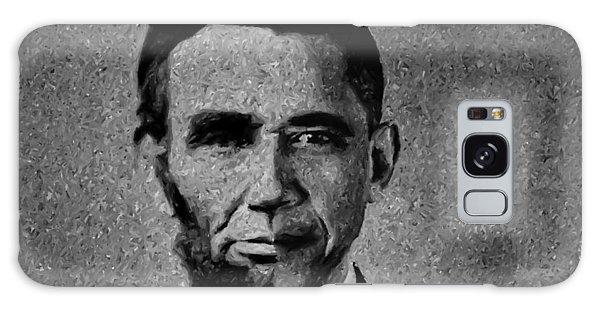 Impressionist Interpretation Of Lincoln Becoming Obama Galaxy Case