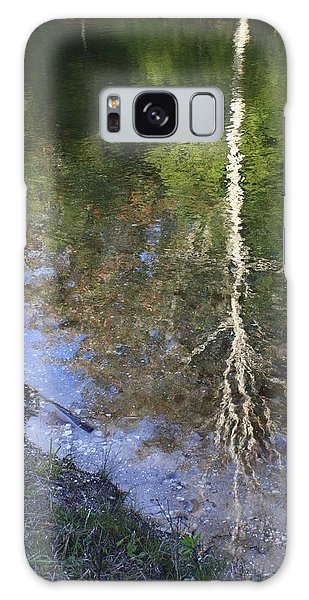 Impressionist Reflections Galaxy Case by Patrice Zinck