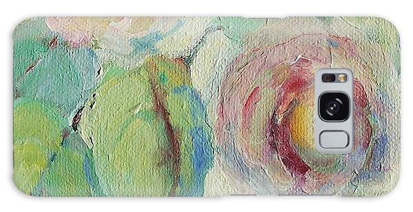 Impressionist Roses  Galaxy Case