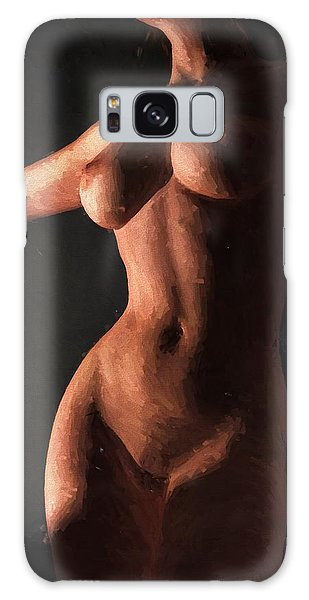Impressionist Torso Galaxy Case by Kaylee Mason