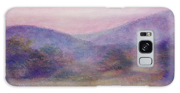 Impressionistic Foggy Summer Morning  Galaxy Case
