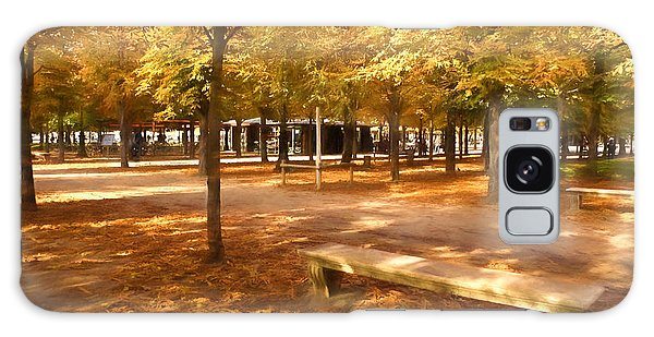 Impressions Of Paris - Tuileries Garden - Come Sit A Spell Galaxy Case