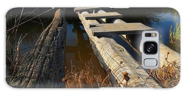 Improvised Wooden Bridge Galaxy Case