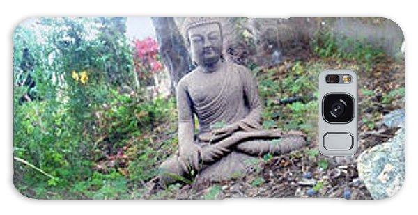 In A Buddha Garden Of Surreal Dreams Galaxy Case by Wernher Krutein