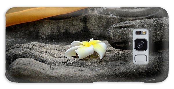 In Buddha's Hands II Galaxy Case