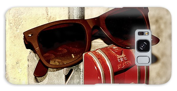 In Case Of Fire Grab Shades Galaxy Case