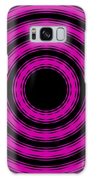 In Circles-pink Version Galaxy Case by Roz Abellera Art