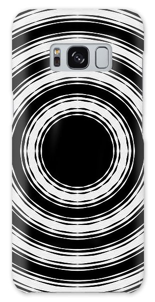 In Circles Galaxy Case by Roz Abellera Art
