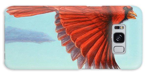 Cardinal Galaxy Case - In Flight by James W Johnson