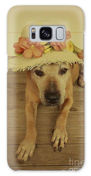 In Her Easter Bonnet Galaxy Case
