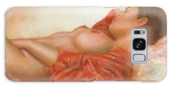 Nude Galaxy Case - In Her Own World by John Silver