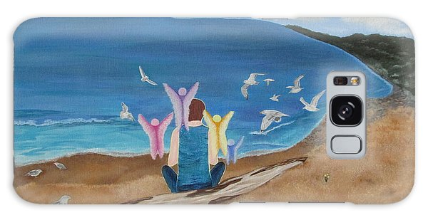 In Meditation Galaxy Case by Cheryl Bailey