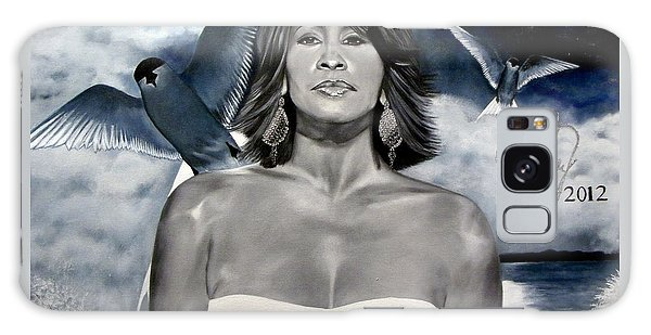 In Memory Of...whitney Houston Galaxy Case