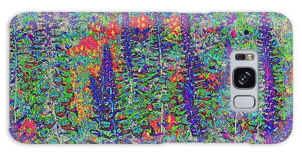 In My Garden Galaxy Case by Diane Miller