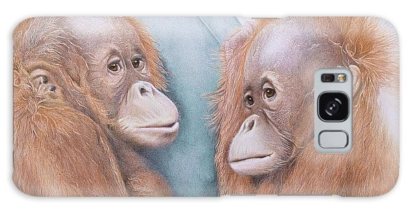 Galaxy Case - In Safe Hands - Orang Utans by Jill Parry