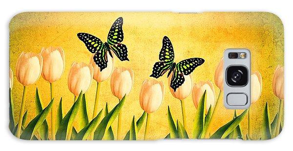 Monarch Galaxy Case - In The Butterfly Garden by Edward Fielding