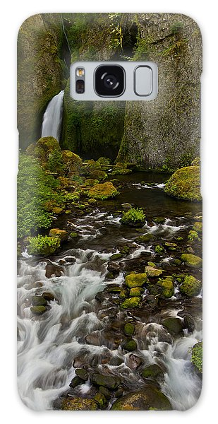 In The Columbia River Gorge. Galaxy Case by Ulrich Burkhalter