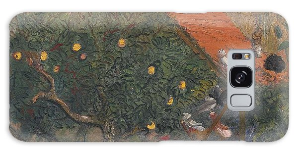 Russian Impressionism Galaxy Case - In The Garden by Celestial Images
