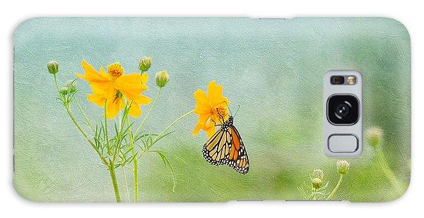 In The Garden - Monarch Butterfly Galaxy Case